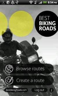 Motorcycle Android App