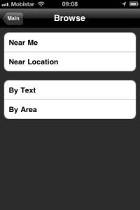 Motorcycle Routes iPhone App