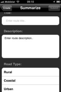 Motorcycle Travel iPhone App