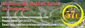 Motorcycle Guided Tours In Romania